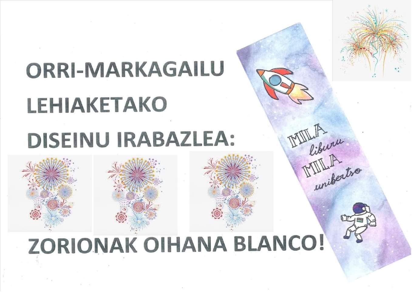 ORRI-MARKAGAILU LEHIAKETA